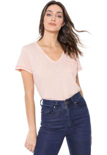 Camiseta Forum Bolso Rosa