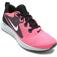 81a0ba2d99 Tênis Nike Legend React Feminino - Feminino-Rosa+Branco