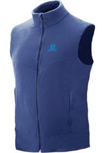 Colete Salomon Masculino Polar - Masculino-Azul