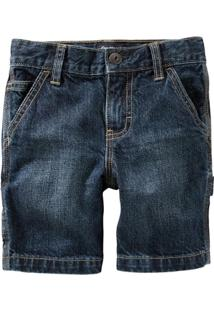 Bermuda Infantil Carter'S Denim Faded Medium Masculino - Masculino