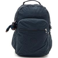 ad1be4579 Kanui. Mochila Kipling Backpacks Seoul Go Basic - Back Azul Marinho