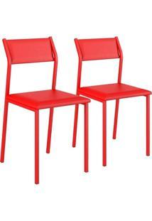 Cadeira Vermelho Carraro 1709 Vermelho 0