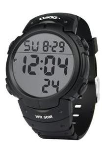 Relógio Dagg Digital Watch Gear Running Fit - Unissex-Preto