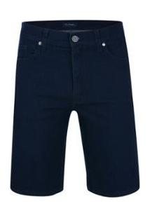 Bermuda Jeans Active Pierre Cardin Masculina - Masculino-Marinho