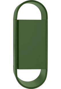 Armário Para Banheiro Wish 1 Pt Verde Musgo