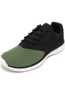 Tênis Bouts Style Preto/Verde
