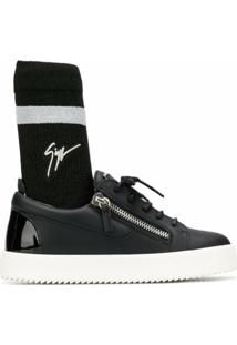 Giuseppe Zanotti Gail Plus Sneakers - Preto