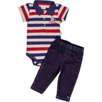 Body Para Menino Jeans Pique infantil | Shoes4you
