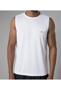 Regata Olympikus Essential Masculina - Masculino-Branco