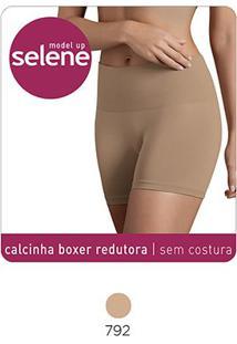 Calcinha Boxer Redutora Selene Sem Costura - Feminino