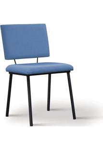 Cadeira De Jantar Antonella Azul Jeans