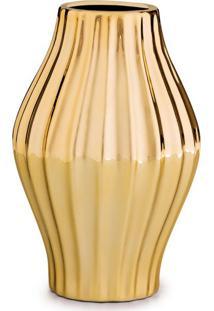 Vaso Pola Dourado 1X11 Cm