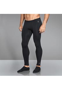 Calça Lupo Underwear Warm Masculina - Masculino-Preto
