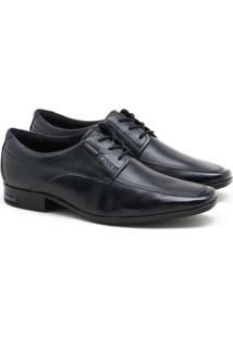 Sapato Social Pegada Premium Masculino Preto
