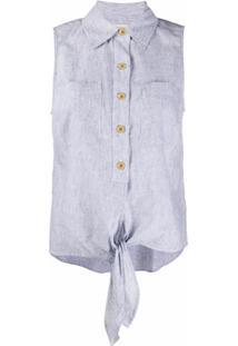 Michael Michael Kors Camisa Sem Mangas - Azul