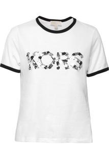 Camiseta Michael Kors Kors Emb Branco