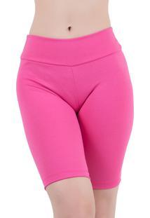 Bermuda Linha Noite Fitness Pink