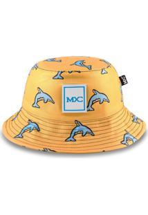 Chapéu Bucket Mxc Dolphin Amarelo