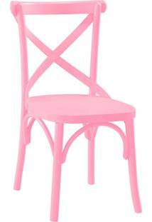 Cadeira De Jantar X Rosa