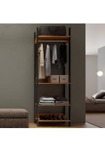 Closet Com 4 Prateleiras Tw402 - Dalla Costa Elare