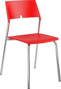 Cadeira 1711 - Carraro - Vermelho Real