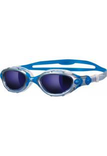 d3831dffd Óculos De Natação Zoggs Predator Flex Lente Espelhada Azul