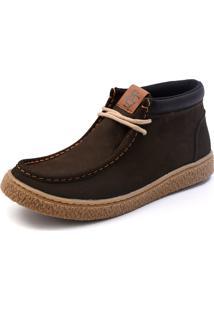 Bota Masculina Shoes Grand Cali Verde Militar
