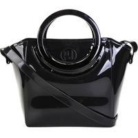 6456ce47a Bolsa Shoulder Petite Jolie Shape Bag Express Feminina - Feminino-Preto