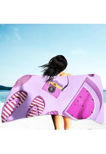 Toalha De Praia / Banho Beach Sunny
