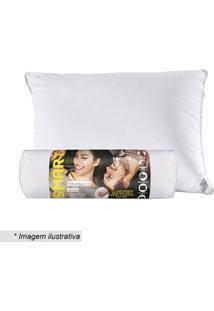 Travesseiro Rolinho Smart- Branco- 70X50Cm- Santsantista