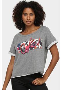Camiseta Coca Cola Logo Básica Feminina - Feminino