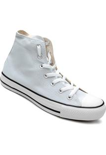 Tênis Converse Chuck Taylor All Star Hi Seasonal - Feminino-Cinza+Preto