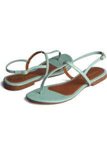 Rasteirinha Trivalle Shoes Azul Bebe