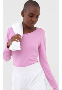 Camiseta Alto Giro Skin Rosa
