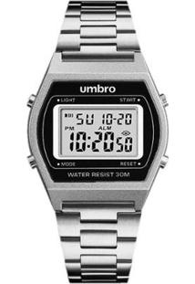 Relógio Digital Umbro Pulseira Metal Clássico - Unissex