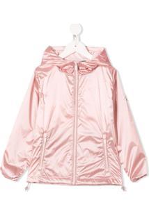 Ciesse Piumini Junior Hooded Coat - Rosa