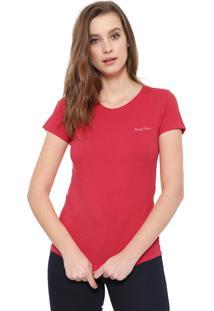 Camiseta Planet Girls Básica Vermelha