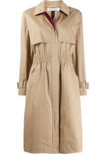 Victoria Beckham Trench Coat - Neutro