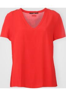 Camiseta Forum Textura Vermelha - Kanui