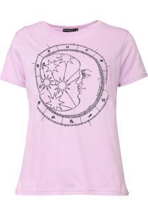 Camiseta Fiveblu Signos Lilás