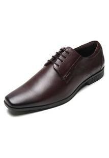 Sapato Ferracini Liso Bordô