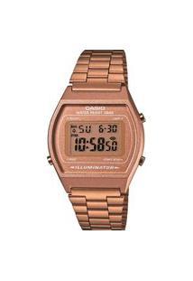 Relógio Casio Digital Vintage Rosê - B640Wc-5Adf-Sc Rosa