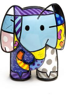 Escultura Romero Britto Gigante Elefante Trevisan Concept