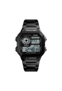 Relógio Skmei Digital -1382- Preto