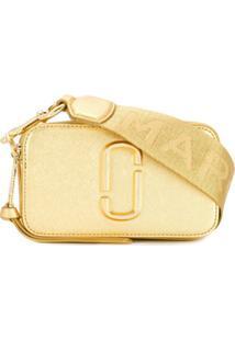 Marc Jacobs Bolsa Transversal Snapshot Pequena - Dourado