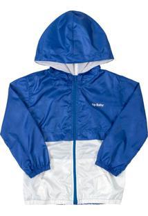 Jaqueta Infantil Corta Vento Azul