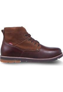 Bota Levis Work Boots Jax Masculina - Masculino-Marrom