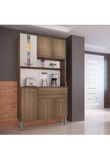 Cozinha Compacta Melissa 6 Pt 1 Gv Castanho