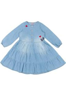 Vestido Jeans 3 Marias Azul