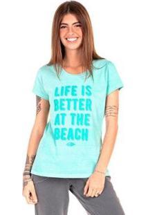 Camiseta Mormaii Babylook At The Beach Feminina - Feminino